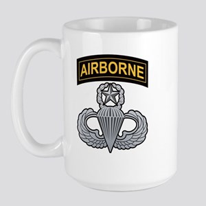 Master Airborne Wings with Ai Large Mug