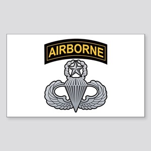 Master Airborne Wings with Ai Rectangle Sticker