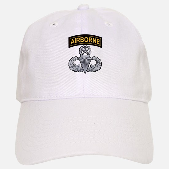 Master Airborne Wings with Ai Baseball Baseball Cap