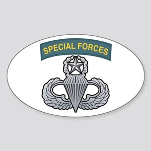 Master Airborne Wings Special Oval Sticker