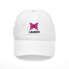Butterfly - Lauren Baseball Cap