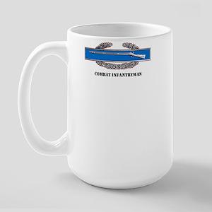 Combat Infantryman's Badge Large Mug