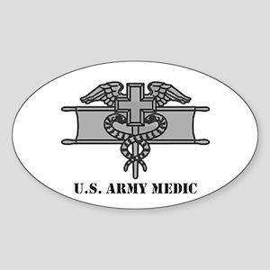 Expert Medical Badge Oval Sticker