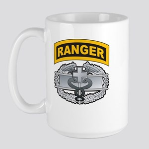 Combat Medic Badge with Range Large Mug