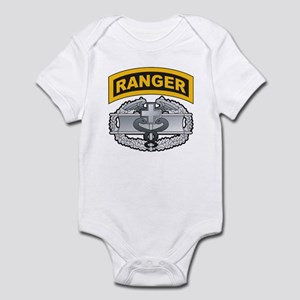 Combat Medic Badge with Range Infant Bodysuit