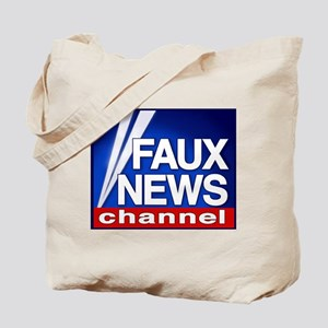 Faux News - On a Tote Bag