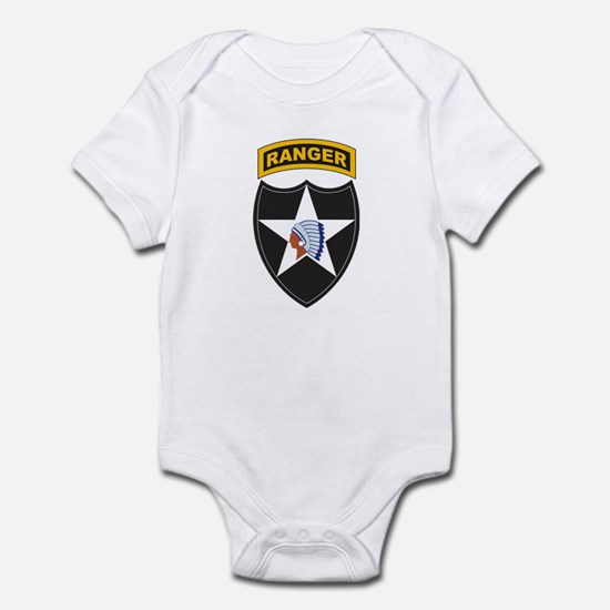 2nd Infantry Div with Ranger Infant Bodysuit