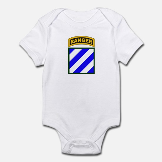 3rd Infantry Div Ranger Tab Infant Bodysuit