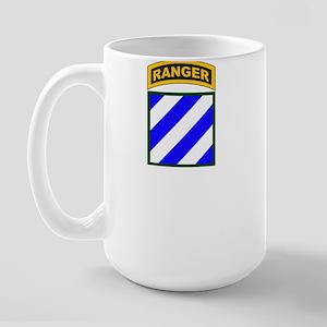 3rd Infantry Div Ranger Tab Large Mug