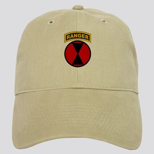 7th Infantry Div with Ranger Cap