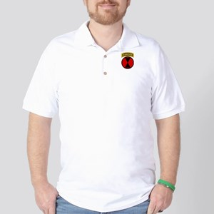7th Infantry Div with Ranger Golf Shirt