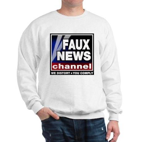 Faux News - On a Sweatshirt