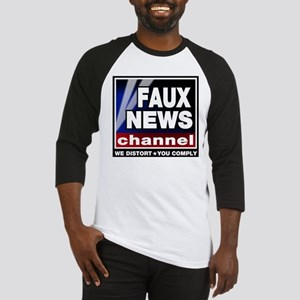 Faux News - On a Baseball Jersey