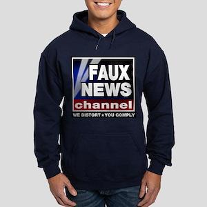 Faux News - On a Hoodie (dark)