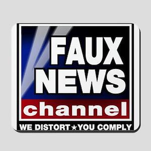 Faux News - On a Mousepad