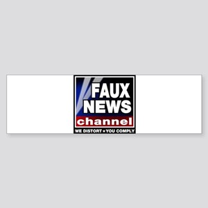 Faux News - On a Bumper Sticker