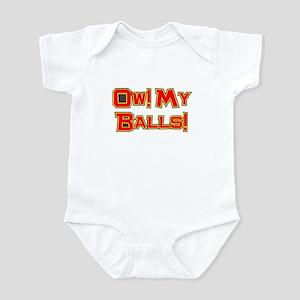Ow! My Balls! Infant Bodysuit