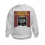 duplicate bridge player gifts Kids Sweatshirt