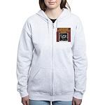 duplicate bridge player gifts Women's Zip Hoodie