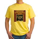 duplicate bridge player gifts Yellow T-Shirt