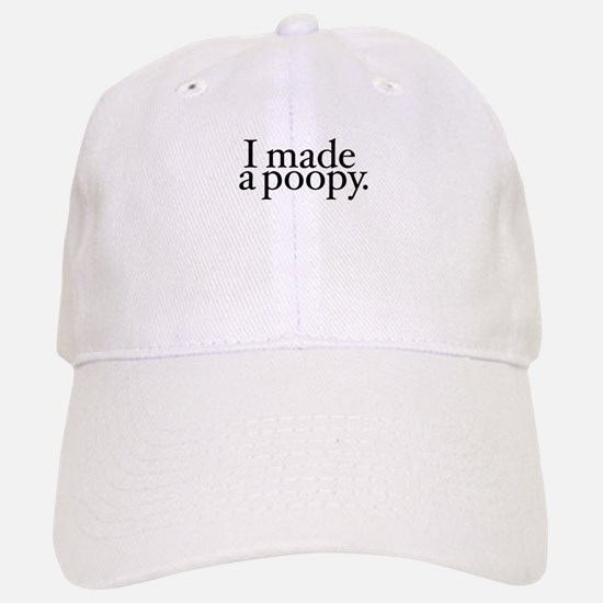 I made a poopy Baseball Baseball Cap
