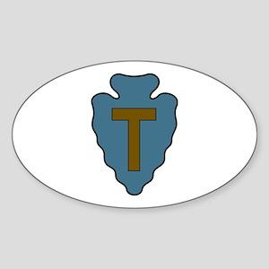 36th Infantry Oval Sticker