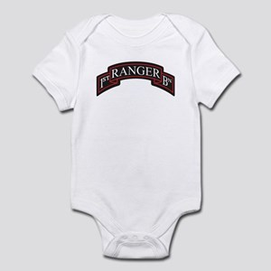 1st Ranger BN Scroll Infant Bodysuit