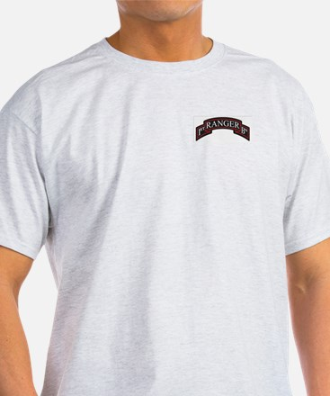 1st Ranger BN Scroll T-Shirt