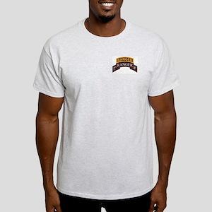 1st Ranger BN Scroll with Ran Light T-Shirt
