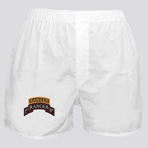1st Ranger BN Scroll with Ran Boxer Shorts