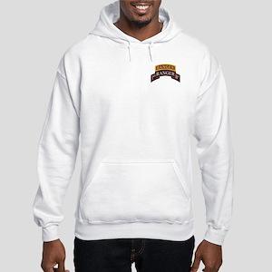 1st Ranger BN Scroll with Ran Hooded Sweatshirt
