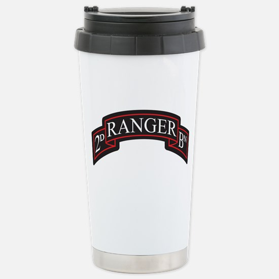2D Ranger BN Scroll Stainless Steel Travel Mug