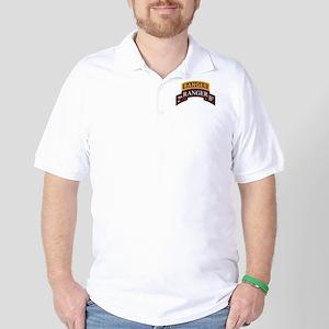 2D Ranger BN Scroll with Rang Golf Shirt