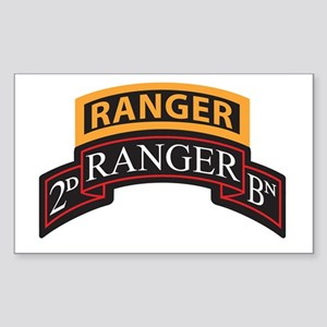 2D Ranger BN Scroll with Rang Rectangle Sticker