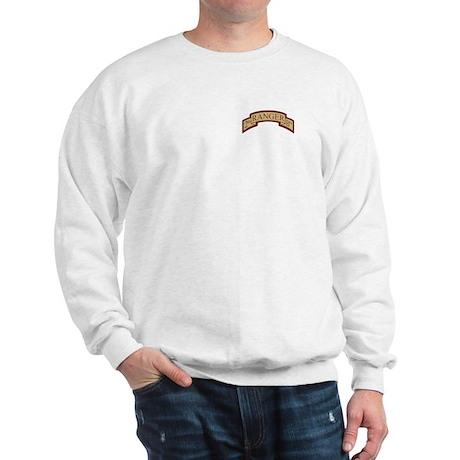 2nd Ranger Bn Scroll Desert Sweatshirt