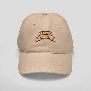 2nd Ranger Bn Scroll/Tab Dese Cap