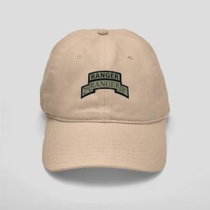 2nd Ranger Bn Scroll/Tab ACU Cap