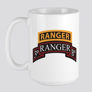 3D Ranger BN Scroll with Rang Large Mug