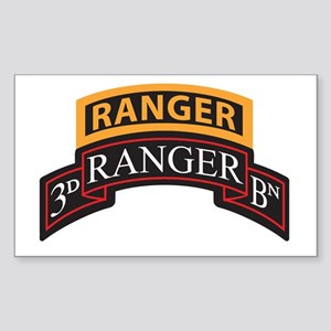 3D Ranger BN Scroll with Rang Rectangle Sticker