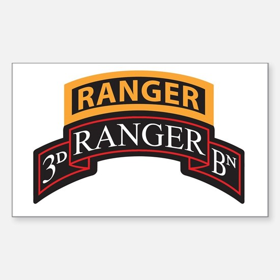3D Ranger BN Scroll with Rang Rectangle Decal
