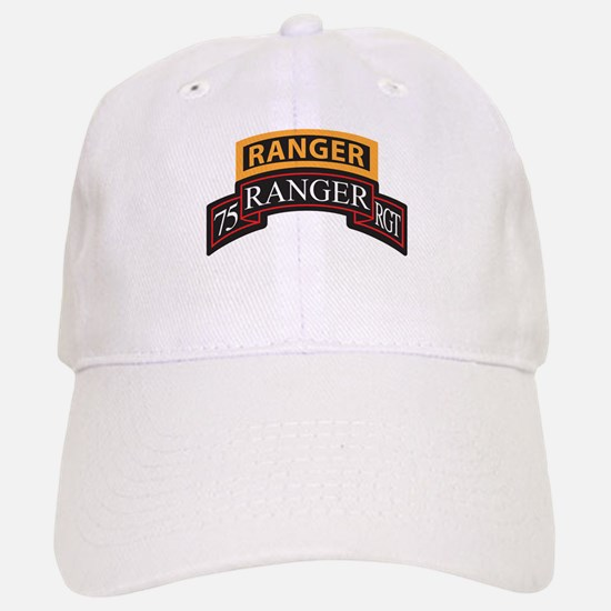75 Ranger RGT scroll with Ran Baseball Baseball Cap