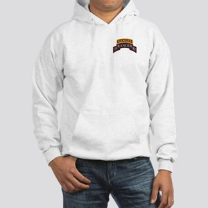 75 Ranger RGT scroll with Ran Hooded Sweatshirt