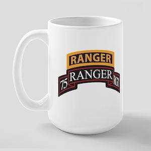 75 Ranger RGT scroll with Ran Large Mug