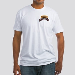 75 Ranger STB scroll with Ran Fitted T-Shirt