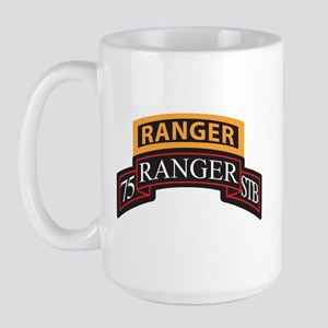 75 Ranger STB scroll with Ran Large Mug