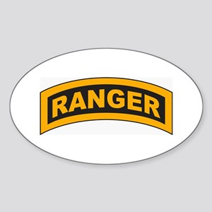 Ranger Tab Oval Sticker