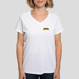 Ranger Tab Women's V-Neck T-Shirt
