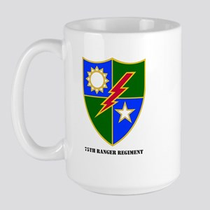 75th Ranger Regimental Crest Large Mug