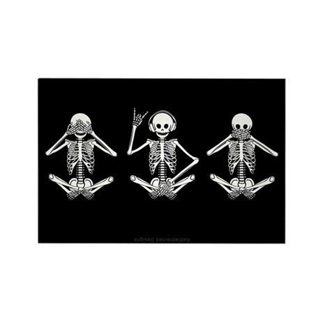 Hear No Evil? Rectangle Magnet (10 pack)