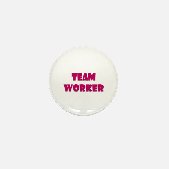 Team worker Mini Button (10 pack)